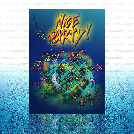 Grußkarte - Nice Party