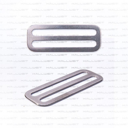 Gurt- und Bleistopper, 50mm, Edelstahl,  ungezahnt