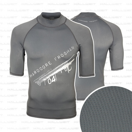 Lycra Shirt UV Schutz Rash Guard  - Hardcore Frogman -