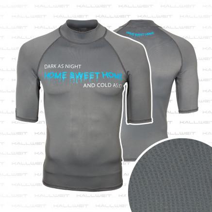 Lycra Shirt UV Schutz Rash Guard  - Home sweet home -