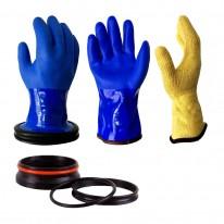 DRYGLOVE Handschuhsystem BLUE