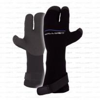 3 Finger Trockenhandschuhe