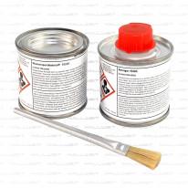 Wassersportklebstoff 100 ml, Reiniger 100 ml & Pinsel im Set