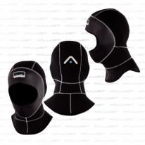 Kopfhaube für Vollgesichtsmaske ansetzen